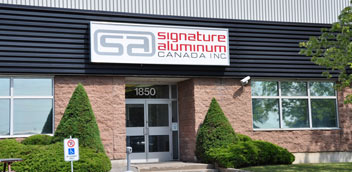 Signature Aluminum building